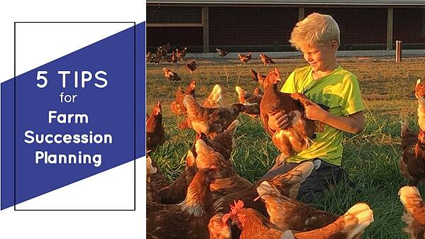 5 tips for farm succession planning