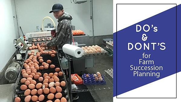 dos and donts for farm succession planning