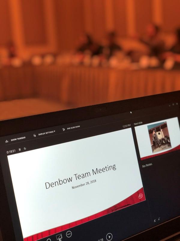 team meeting Nov 28