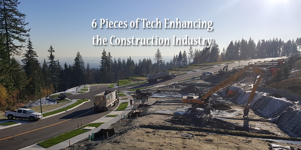 6 Pieces of Tech Enhancing the Construction Industry