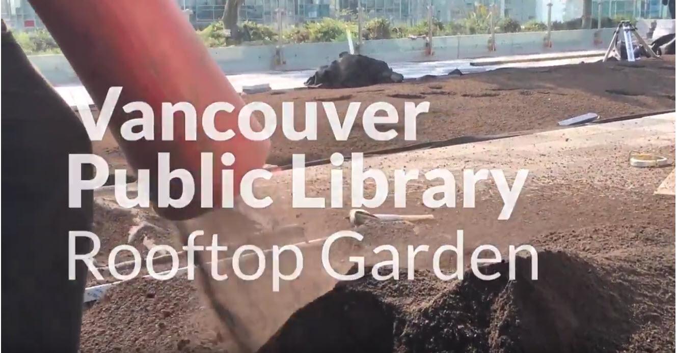 Vancouver Public Library Rooftop Garden