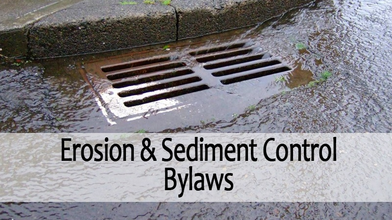 erosion and sediment control bylaws