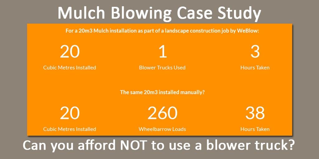 mulch blowing case study weblow