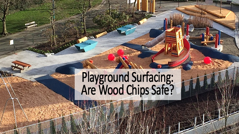 playground wood chips safe